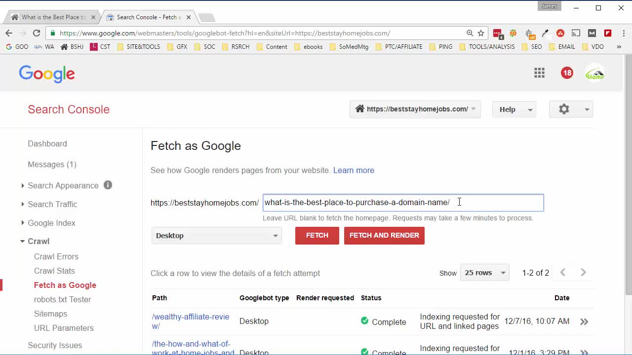 How to Submit Your Latest Blog Post to Google Search Console